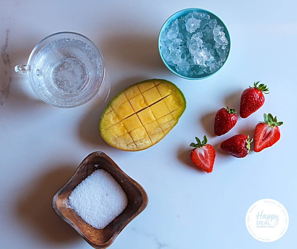 mango and strawberry slushie ingredients
